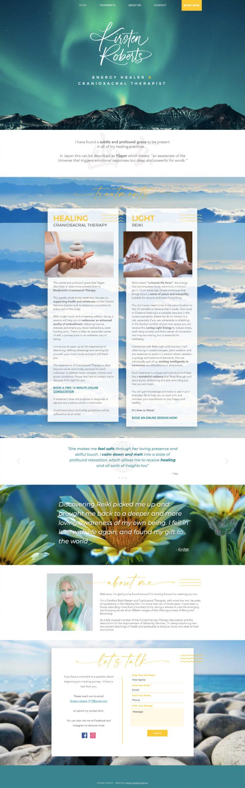 Kirsten Roberts Website